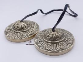 Cymbale7 Cymbale ou Tingsha Tibétaine Dorje Vajra