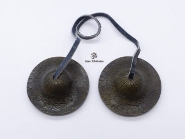 Cymbale9 Cymbale ou Tingsha Tibétaine