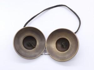 Cymbale10 Cymbale ou Tingsha Tibétaine