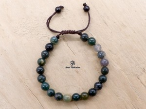 BrMala307 Bracelet Mala Agate