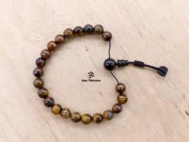 BrMala309 Bracelet Mala Malachite