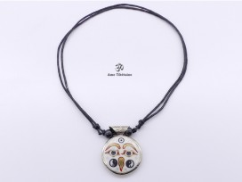 CD125 Collier Tibétain Mantra