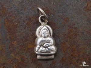 PA131 Pendentif Argent Massif Bouddha