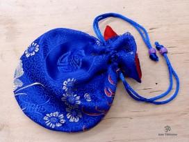 PochTib60 Pochette Tibétaine pour Mala