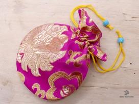 PochTib71 Petite Pochette Tibétaine pour Mala