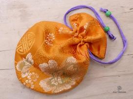 PochTib77 Petite Pochette Tibétaine pour Mala