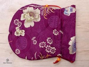 PochTib90 Petite Pochette Tibétaine pour Mala