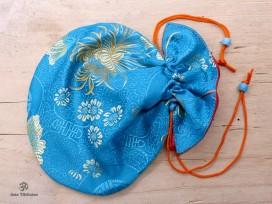 PochTib107 Pochette Tibétaine pour Mala