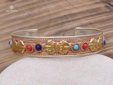 BRD414 Bracelet Tibétain Dorje Vajra