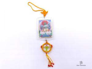 DDD52 Yanka Tibétain Tara Bouddha Népal Tibet