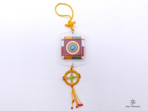 DDD95 Yanka Tibétain Om Bouddha Népal Tibet