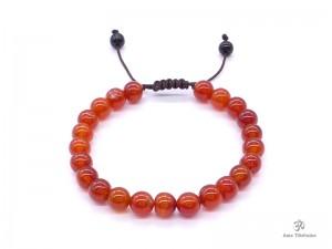 BrMala311 Bracelet Mala Cornaline