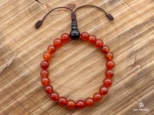 BrMala312 Bracelet Mala Cornaline