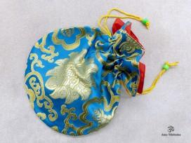 PochTib100 Pochette Tibétaine pour Mala