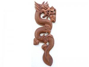 DMD54. Dragon en Bois