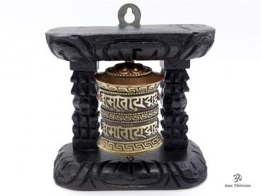 RP40 Roue à Prières Tibétaine Mantra