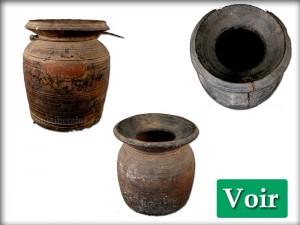 Pots en Bois Anciens
