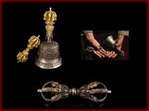 Cloches et Dorjes Tibétains