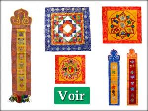 Batiks et Bannières