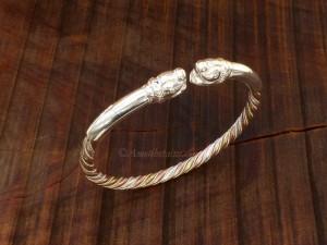 Bracelets Tibétains Argent Massif