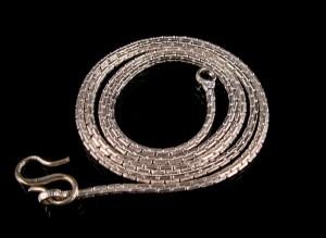 Chaines Tibétains Argent Massif