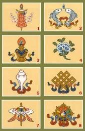 Astamangala: Huit signes auspicieux du bouddhisme